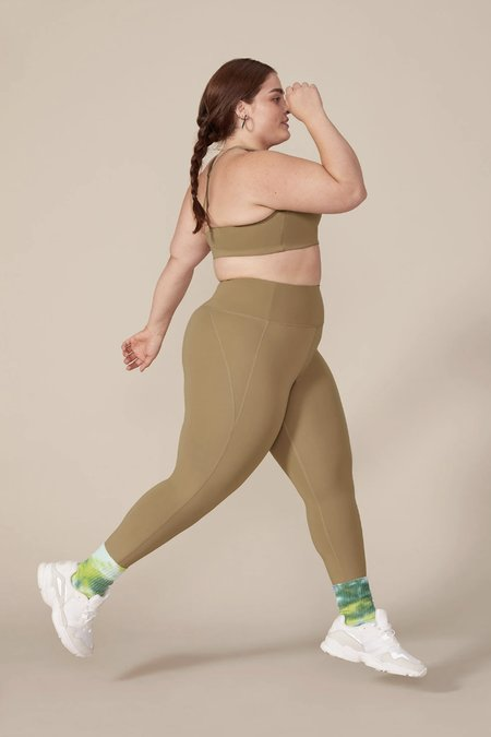 Girlfriend Collective Long Compressive High-Rise Legging - Sand