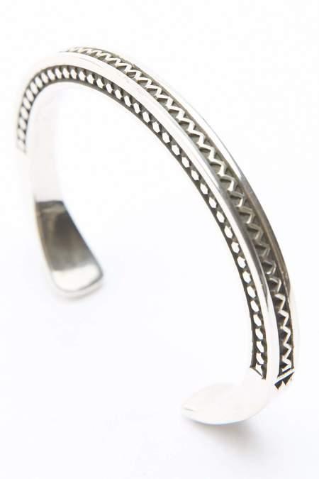 Lyle Secatero Square Cuff - Sterling Silver