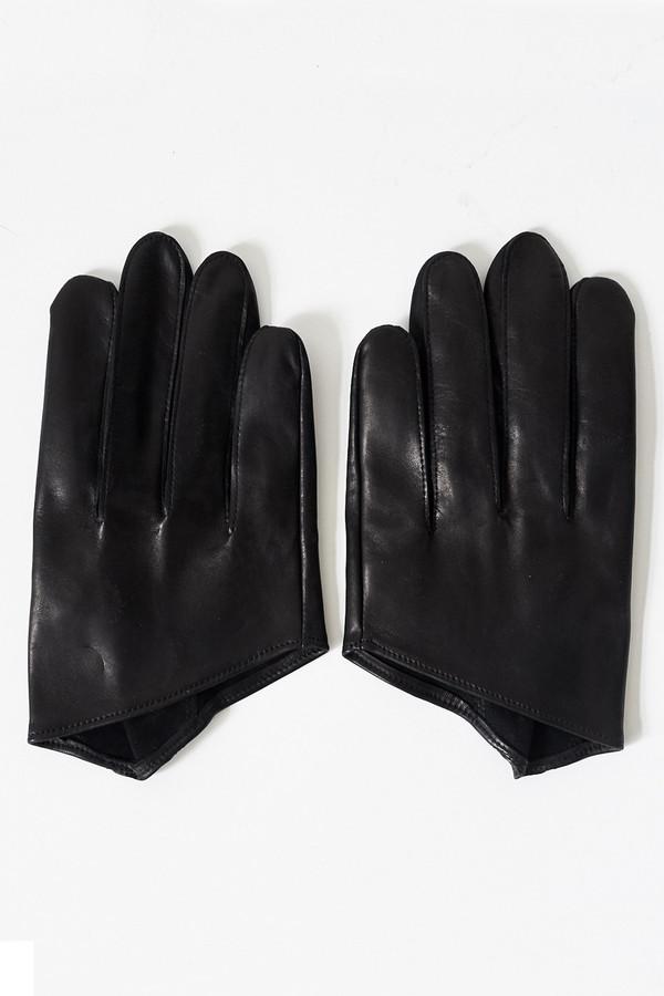 Men's Robert Geller Leather Gloves