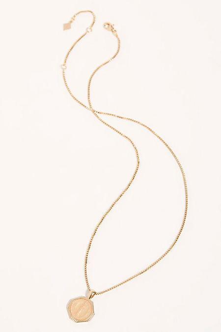 Joy Dravecky Sofia Pendant Necklace - Golden Nude