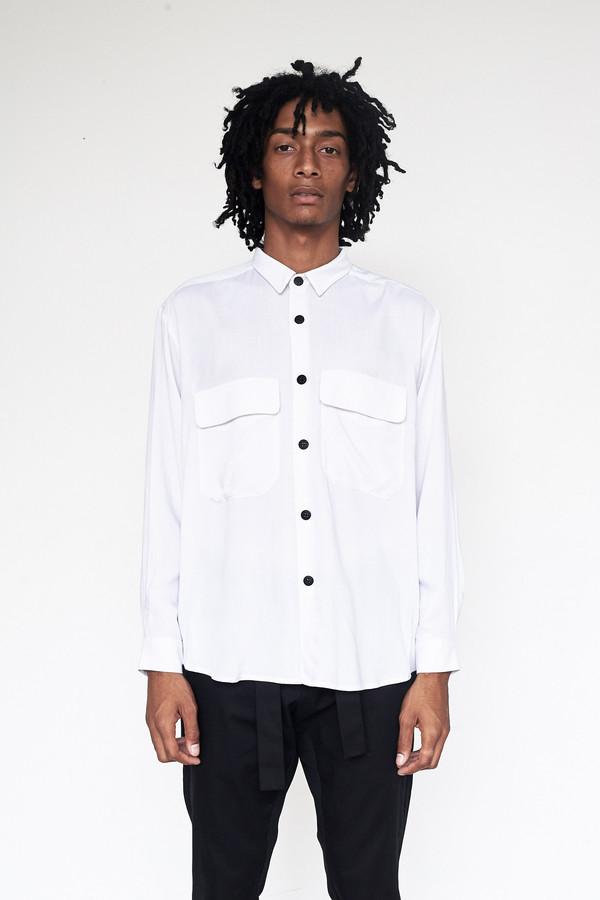Unisex Assembly New York Rayon Poet Shirt