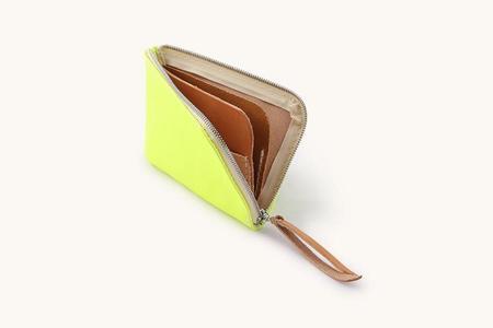 Tanner Goods Electric Remix Universal Zip Wallet - Lime