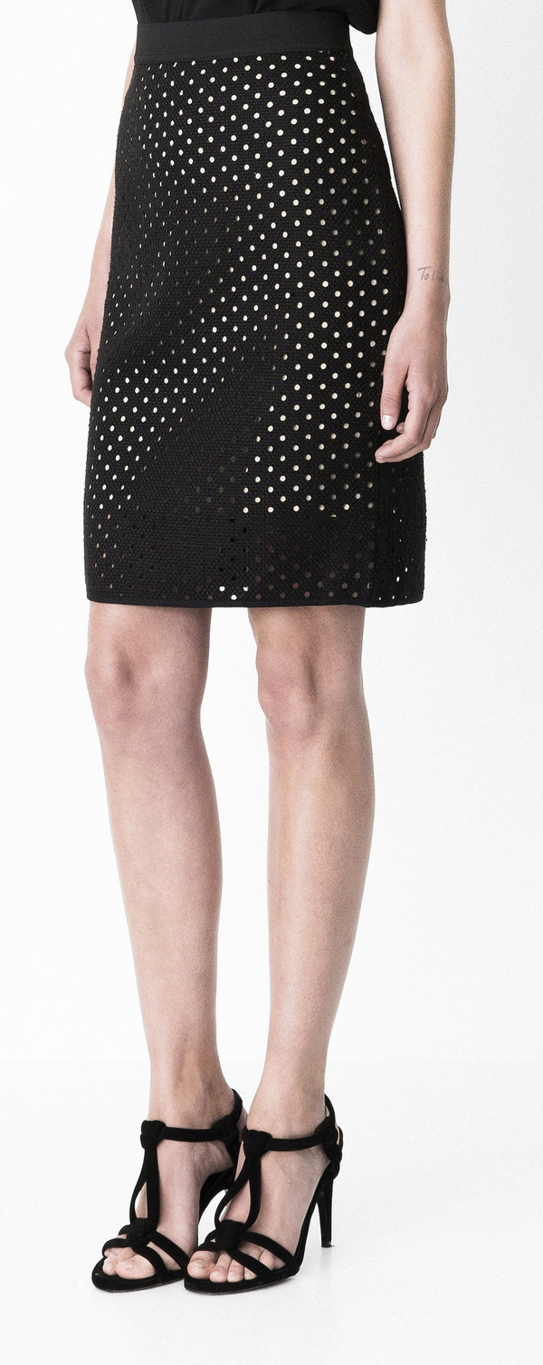 "Storm + Marie Storm and Marie ""Dot"" Straight Skirt"