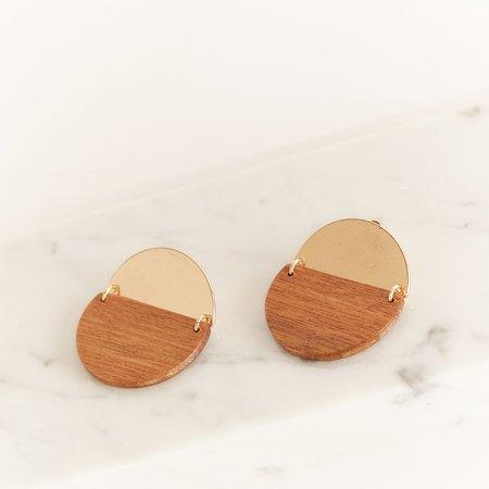 Sophie Monet Shed Medallion Earring