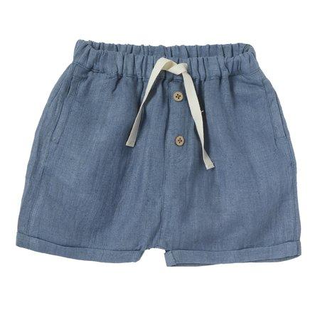 kids bonheur du jour marlow shorts - blue