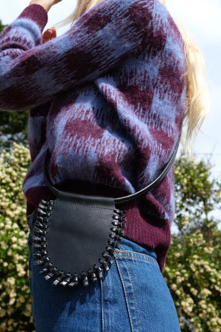 Beklina Tassel Bag - Black