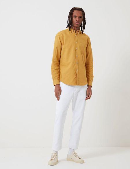Portuguese Flannel Belavista Shirt - Mustard