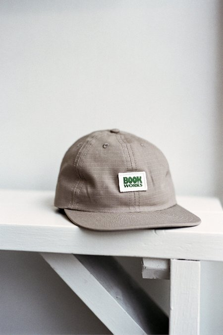 Book Works Rip-Stop Patch Hat - Khaki