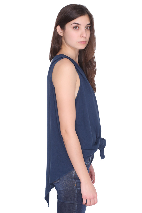 Tienda Ho Monsoon Tank in Navy Blue