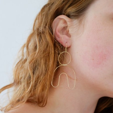 Emily's The Freesia Earring - Sterling Silver