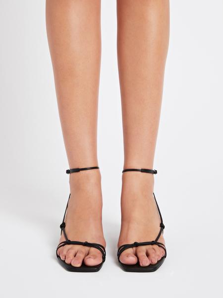 Camilla and Marc Laila Mid Heel Sandal - black