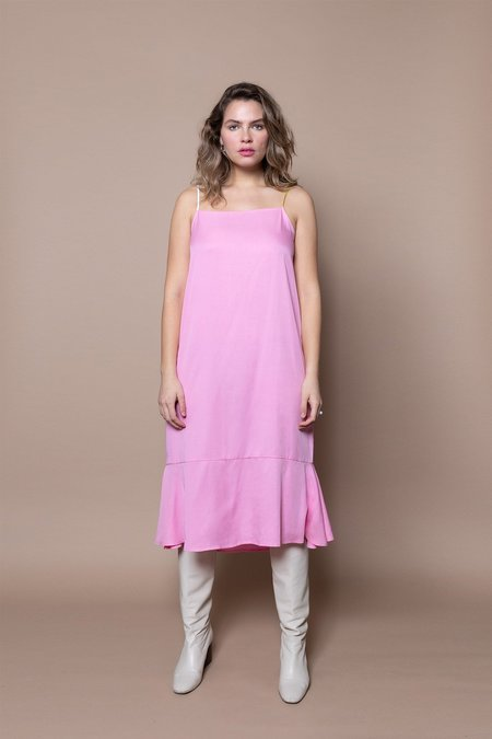 Soft Focus The Fluted Slip -Pink Mix
