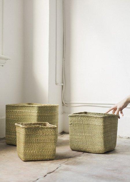 Charlie & Lee Square Iringa Baskets