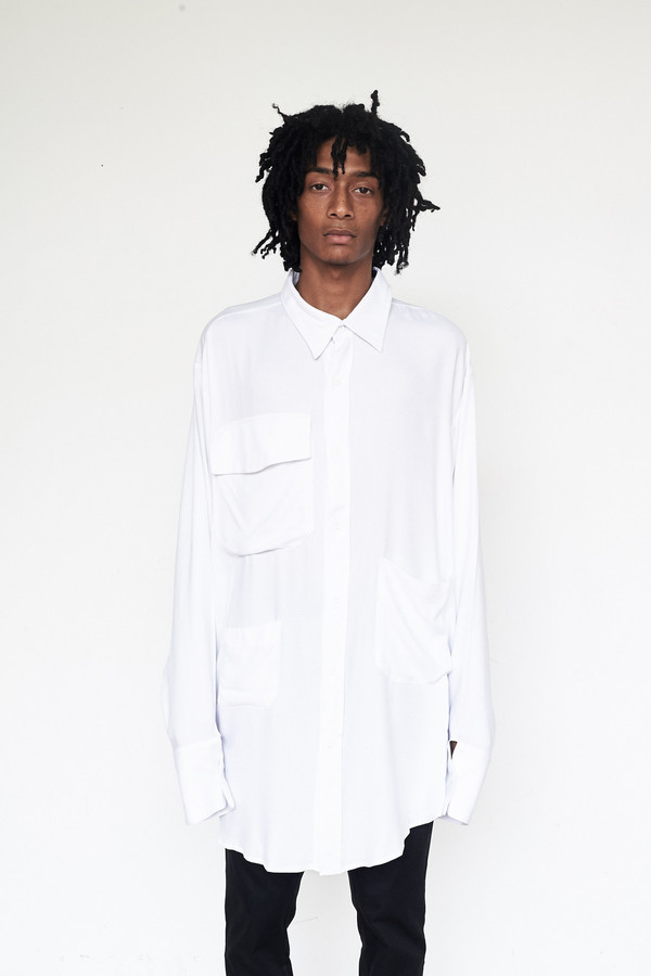 Unisex Assembly New York Rayon Chimayo Shirt