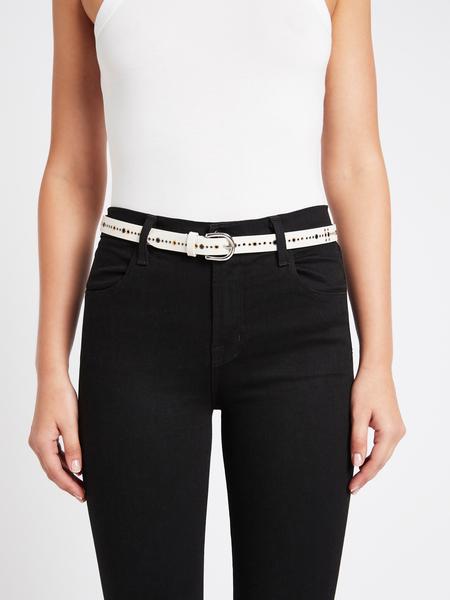 IRO Baley Belt - White