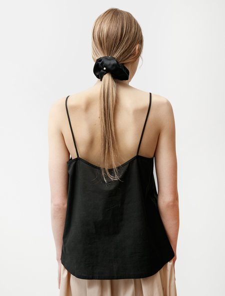 Norse Projects Sille Light Weave Camisole - Black