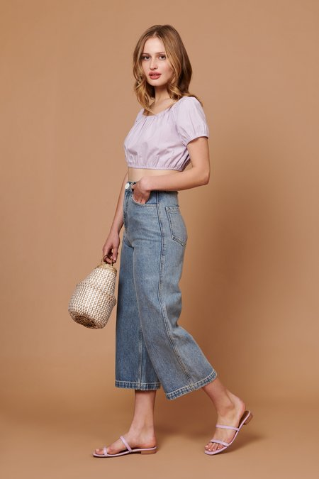 Whimsy + Row Stella Shirt - Lavender