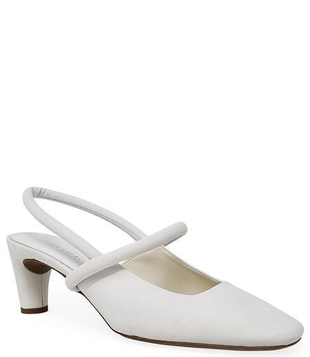 Del Carlo Closed Toe Heel - Bianco
