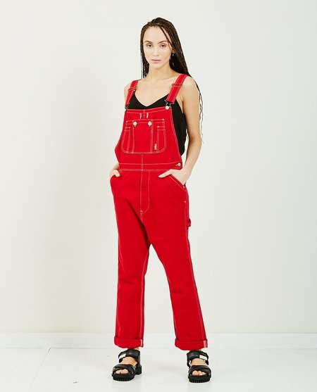 DENIMIST Overalls - Red