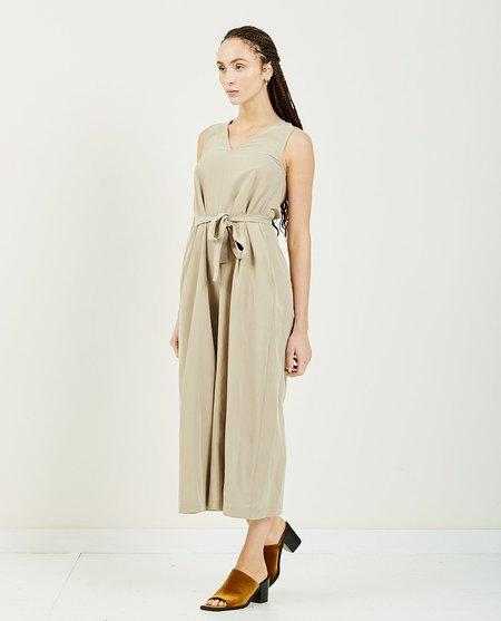 GREI FIFTYTWO Wide Leg Jumpsuit - Khaki