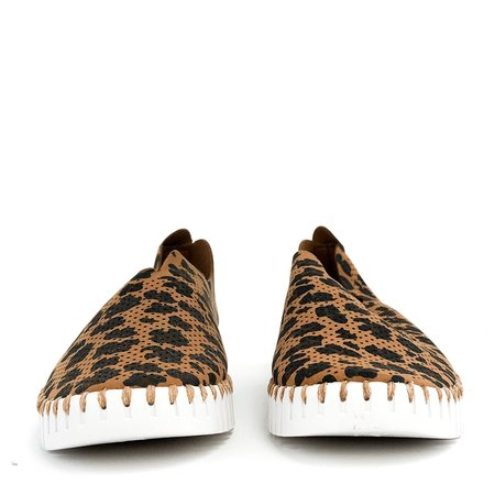 Pattino Shoe Boutique Ilse Jacobsen Tulip Sneaker - Chestnut