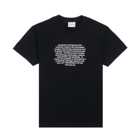 Groveland Shroom Short Sleeve Tee - Black