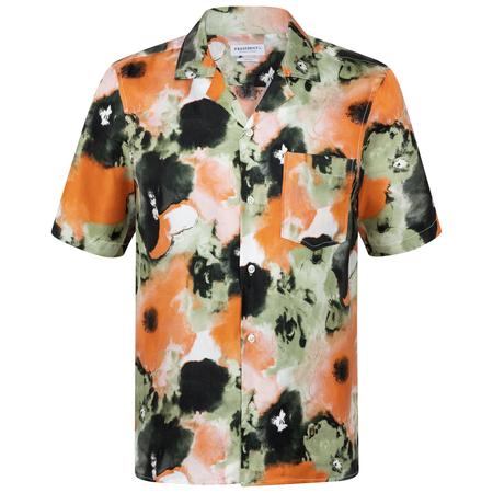 PRESIDENTS Shirt Rangi Psycho Flower Silk