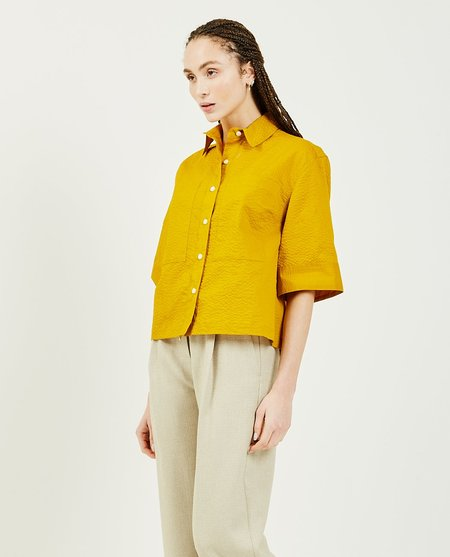 GREI FIFTYTWO Box Shirt - CURRY