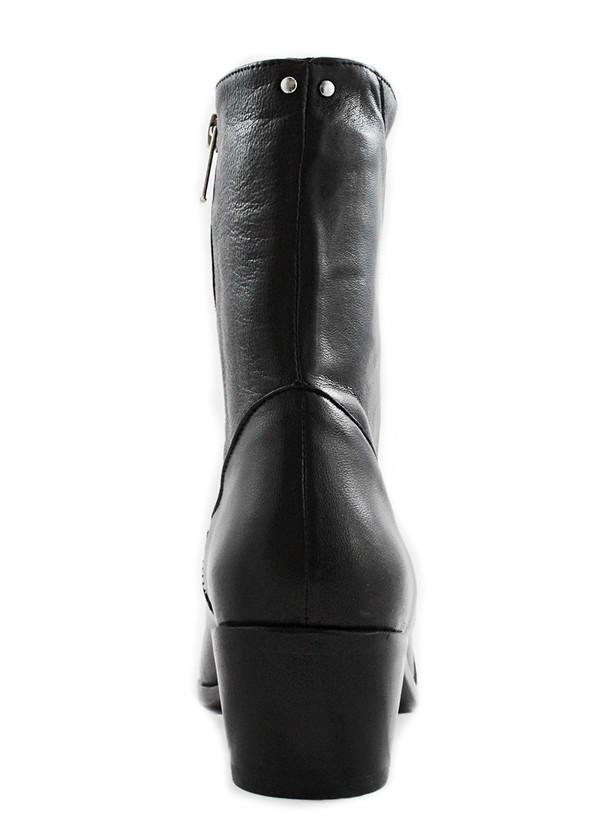 Cartel Footwear AW16 High Shaft Boot - Helvecia Black Leather