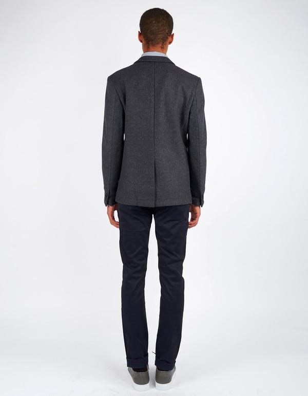 Men's Minimum Black Enzo Blazer Dark Grey Melange