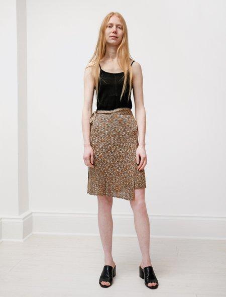 ECKHAUS LATTA Space Knit Wrap Skirt