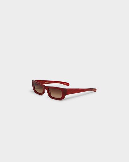 FLATLIST Bricktop glasses - Red/Brown