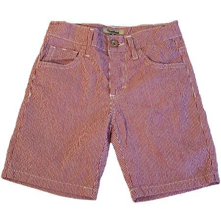 Kids Nupkeet Seewell Bermuda Shorts - Red/White