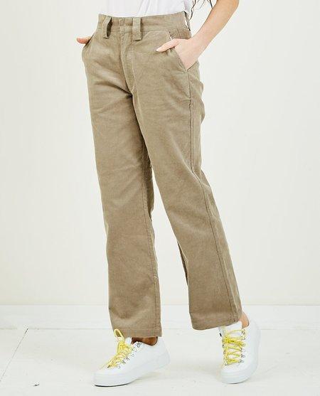 Stussy Corduroy Wide Leg Pant - TAUPE