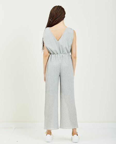 TRIAA Sheer Overalls - light gray