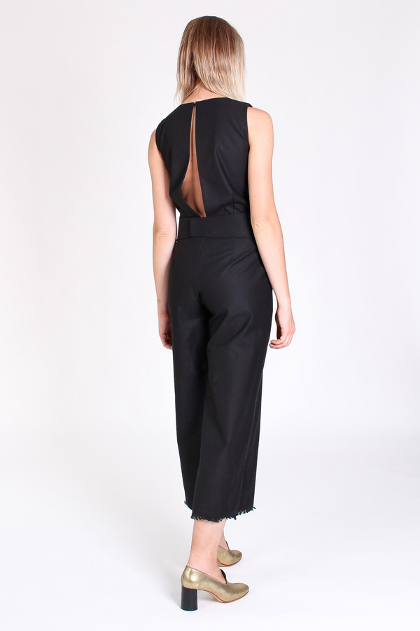 Delfina Balda Atenea jumpsuit in black