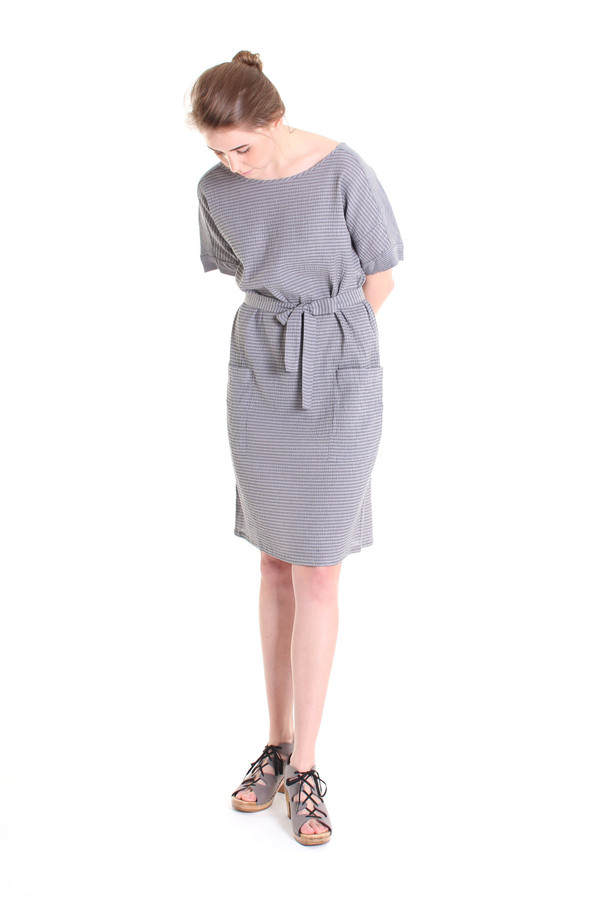 Humanoid Bench dress in Grey