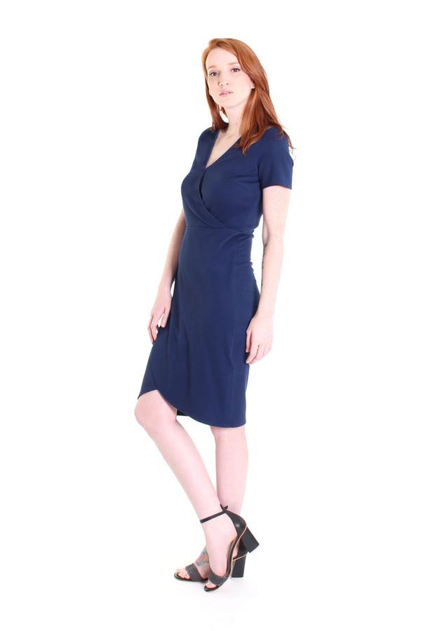 Obakki Corbett dress in dark blue