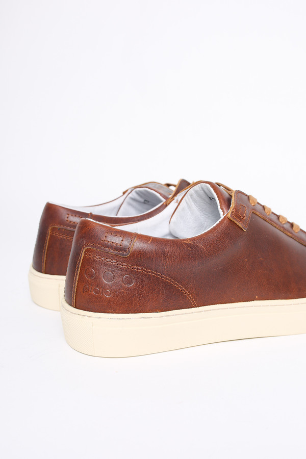 Men's Piola Ica low top sneaker in tobacco