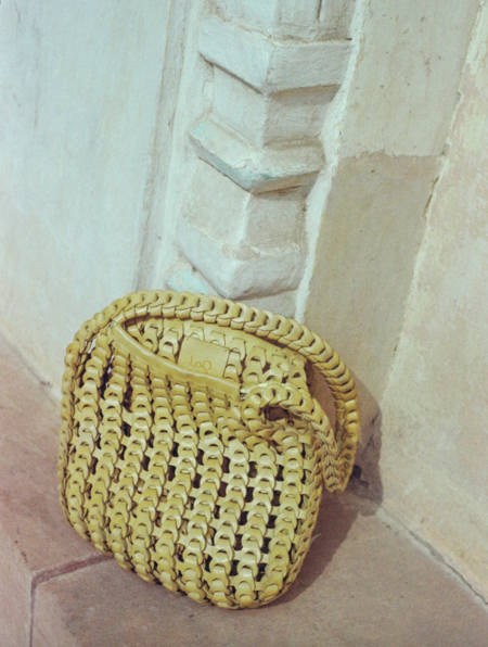 LOQ gabi shoulder bag - limoncello