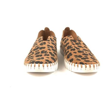 Ilse Jacobsen Sneaker - Tulip 139 (Light Chestnut Leopard)