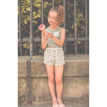kids louis louise georgia short - light pink