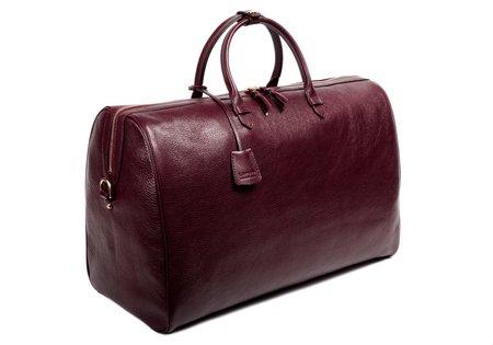 Unisex Lotuff Leather No. 12 WEEKENDER BAG - CORDOVAN