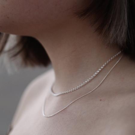 BAR Jewellery Cascade Necklace - Sterling Silver