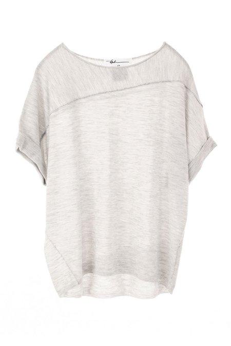 Paychi Guh Cuffed Pullover - Dove Grey