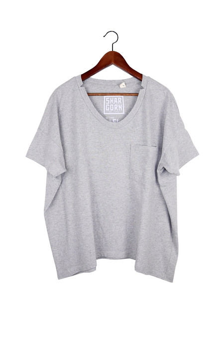 Skargorn #61 Short Sleeve Tee, Heather Wash