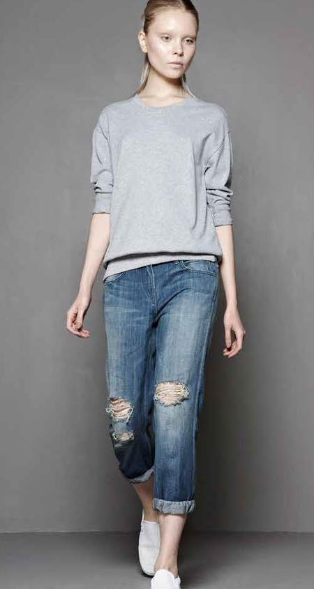 Skargorn #88 Sweatshirt Tee - Heather Wash