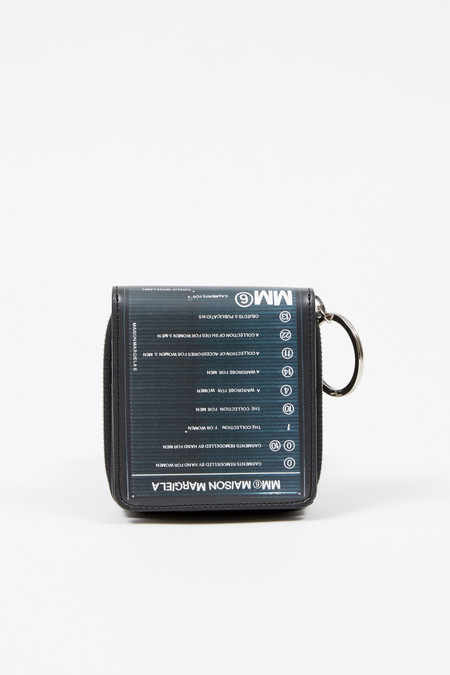 MM6 Maison Margiela Short zip Directory Wallet