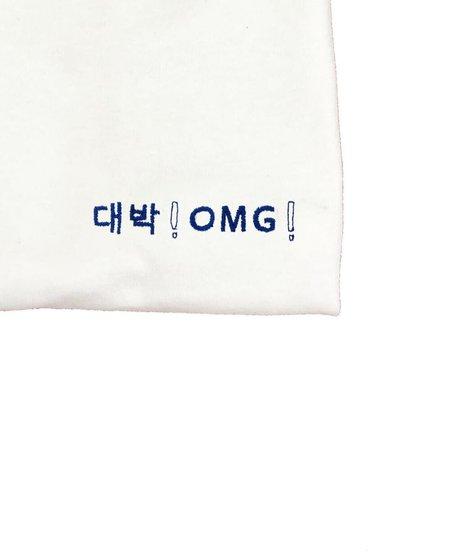 embroidery tee shirt daebak! omg! ( jackpot! )