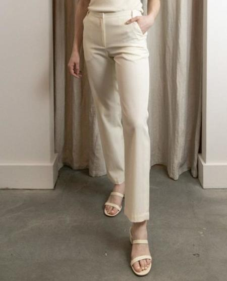 Maryam Nassir Zadeh CAPE TROUSERS - NATURAL